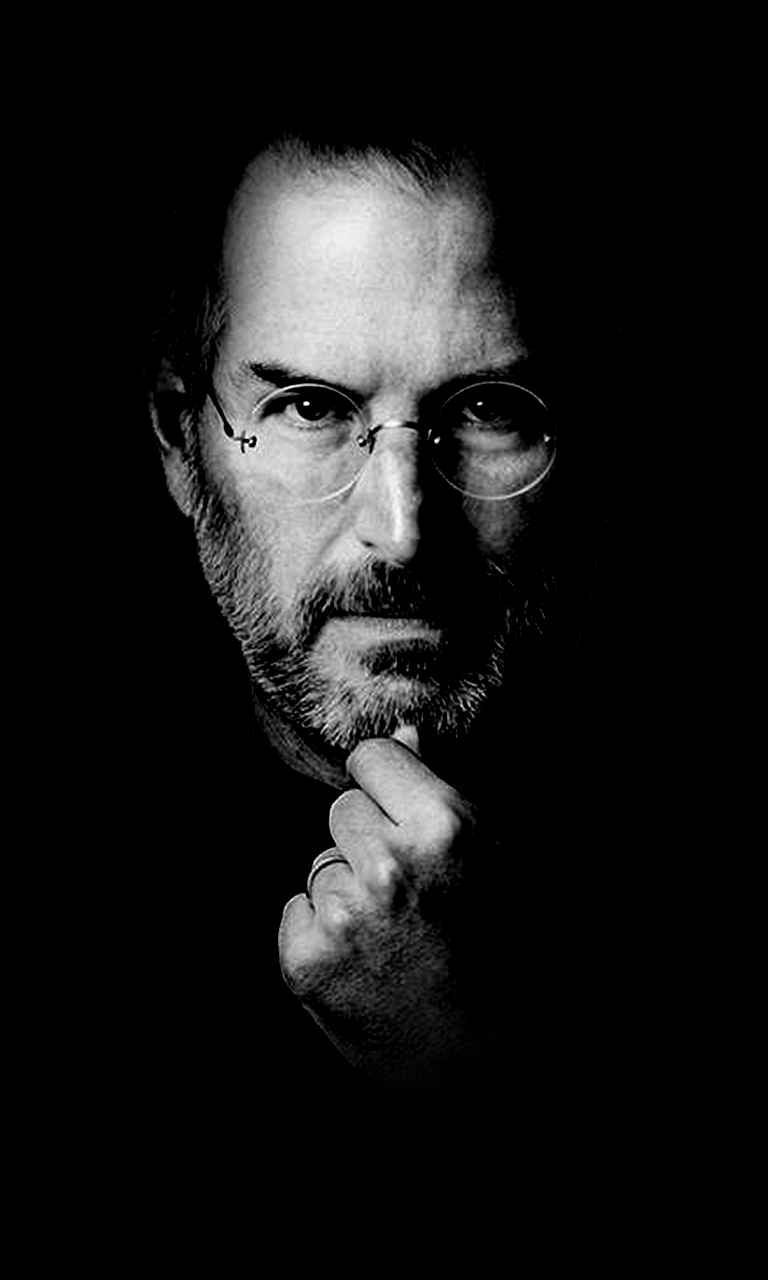 10 background images to beautify your nokia lumia glance - Steve jobs wallpaper download ...